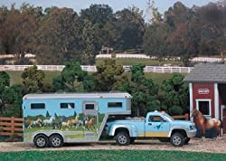 BREYER HORSES STABLEMATES TRUCK AND GOOSENECK TRAILER