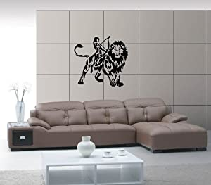 Amazon.com - Leo Horoscopes Astrology Design Animal Decor Wall