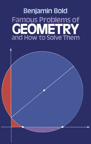 Famous problems of geometry and how to solve them