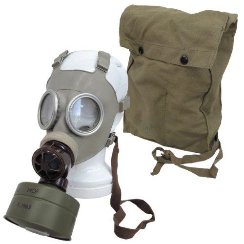 チェコ軍 ガスマスクセット MODEL Z バッグ付き デッドストック