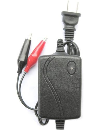 【小型軽量】!!バッテリー充電器 12V 1250mA
