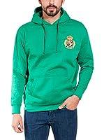 ROYAL POLO CUP JT Sudadera con Capucha (Verde)