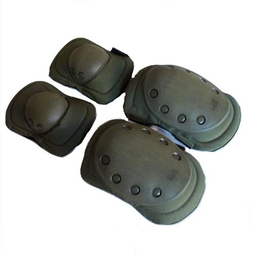 Storage pad left SWAT protector elbow focused protection elbow - 0 - knee on knee set only bag with (Army Green)