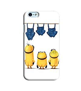 Blue Throat Three Minions Printed Designer Back Cover/Case For Apple iPhone 6s Plus