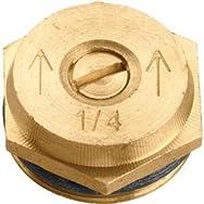 Orbit 53052 Brass Sprinkler Head Insert-QTR PATTERN BRASS INSERT