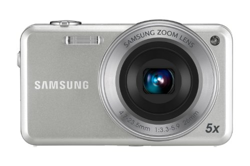 Samsung ST95 Digital Camera - Silver (16MP, 5x Optical Zoom) 3 inch Touch LCD