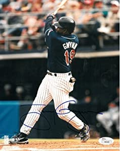 Tony Gwynn Autographed Hand Signed San Diego Padres 8x10 Photo- JSA Hologram by Hall of Fame Memorabilia