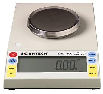 Scientech Zeta Series Single Mode Lab Toploading Balance