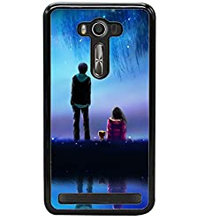 Droit 2D Printed Designer Back Case Cover for Asus Zenfone Selfie + 3D F1 Screen Magnifier + 3D Video Screen Amplifier Eyes Protection Enlarged Expander by DROIT Store.