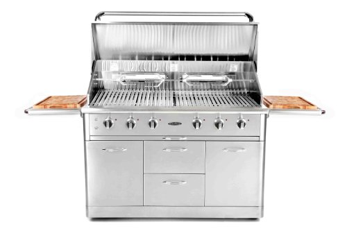 Capital Cooking Equipment Cg52Rfsl Precision Series Free Standing Stainless Steel Grill, 52-Inch