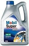 Mobil Super 1000X1 151180 15W40 5L Multi-Grade Motor Oil