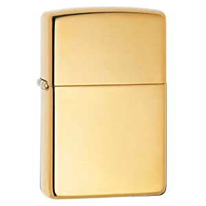 Zippo High Polish Brass Pocket Lighter $14.59
