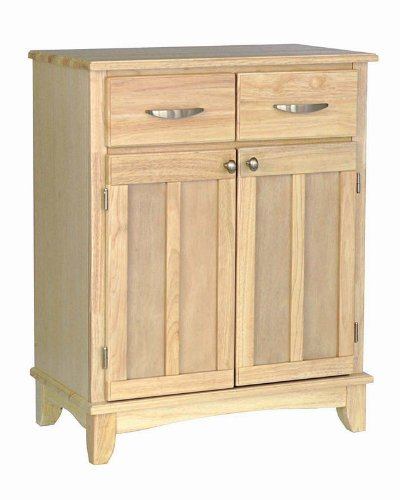 Cheap Server Sideboard with Metal Handles in Natural Finish (VF_HY-5001-0011)