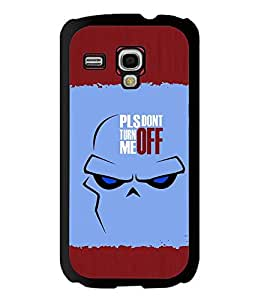 Fuson 2D Printed Quotes Designer back case cover for Samsung Galaxy S3 Mini - D4283