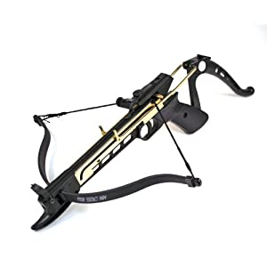 Cobra System Self Cocking Tactical Crossbow Pistol 80-lb.