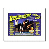 BOWLING FOR SOUP UK Tour 2009 12x10in Matted Music Print - White