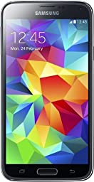 Samsung Galaxy S5 SM-G900F 16GB Factory Unlocked Cellphone International Version, Retail Packaging, Black