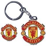 Man Utd Crest Keyring & Pin Badge Set