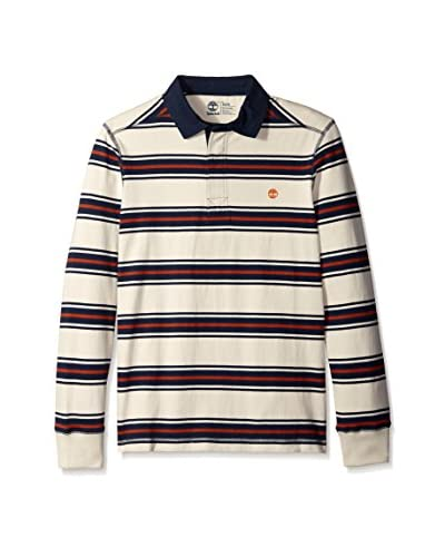 Timberland Men's TFO Long Sleeve River Stripe Rugby