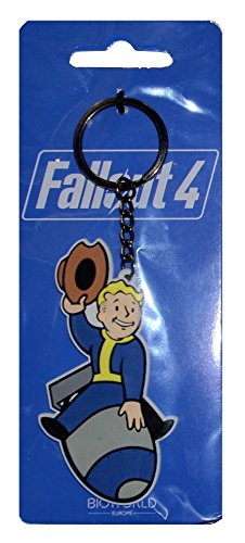 Fallout 4 Portachiave Keychain Bomber Skill Video Games