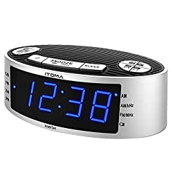 digital radio alarm clocks radio alarm clocks www top clocks com. Black Bedroom Furniture Sets. Home Design Ideas