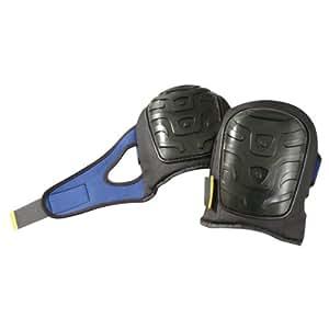 Black Fleece Jacket 121 Occunomix Premium Flat PE Cap Gel Pads, Black/Blue