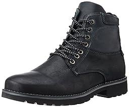 Steve Madden Men\'s Ceaderr Winter Boot, Black, 10.5 M US