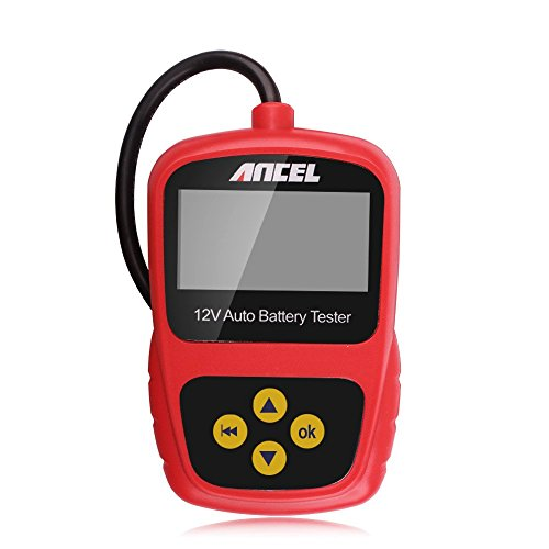 Car Battery Tester, Ancel BST200 12V Test Tool Support All Automotive Cranking Lead Acid Battery (Lead Acid Car Battery Tester compare prices)