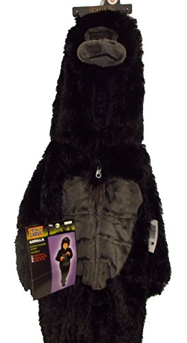 [Monkey Chimp Gorilla Plush Jumpsuit Costume NWT S 36'] (Baby Gorilla Costumes)