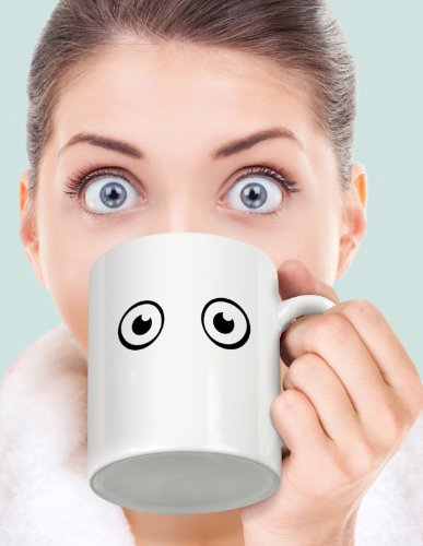 Fred WAKE-UP CUP Heat-Sensitive Color Changing Mug