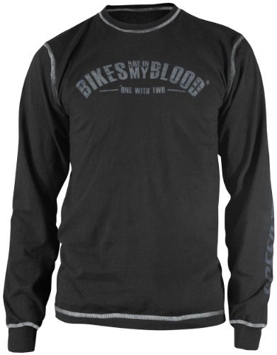 Speed & Strength Bikes Are In My Blood Long Sleeve T-Shirt , Distinct Name: Black, Size: Md, Primary Color: Black, Gender: Mens/Unisex 875628