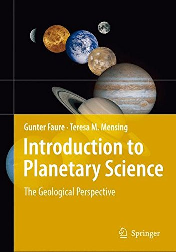 Introduction to Planetary Science: The Geological Perspective PDF