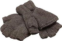 Nirvanna Designs MT27 Fingerless Mitten/Gloves, Mud