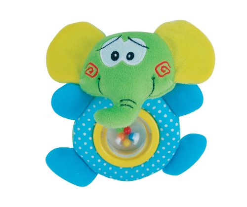 Petite Creations Rattle Toy, Elephant