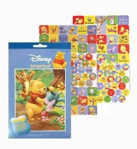276 Winnie the Pooh Stickers - 1
