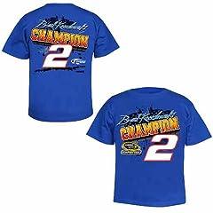Buy #2 Brad Keselowski 2012 Nascar Sprint Cup Champion Youth Tee Xs Zch1216431 by Brickels