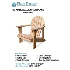 Child adirondack chair woodworking plans full sized patterns odf21 on popscreen - Patterns for adirondack chairs ...