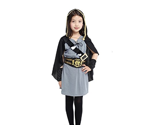 Mocoz Childrens Halloween Costumes.Cosplay Hunter dress