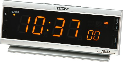 CITIZEN Alarm clock Pal digit Pure Radio-Controlled Wrist Watch AC8RZ099-019