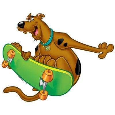 Picture of Pressman Scooby-Doo! Scooby Skateboarding Pal Size 46 Piece Floor Puzzle (B003KFAUDY) (Floor Puzzles)