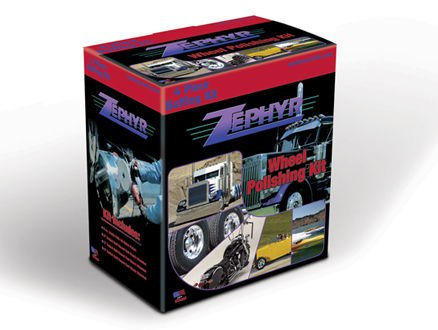 Zephyr 4 Piece Buffing Kit (Zephyr Pro 40 Metal Polish compare prices)
