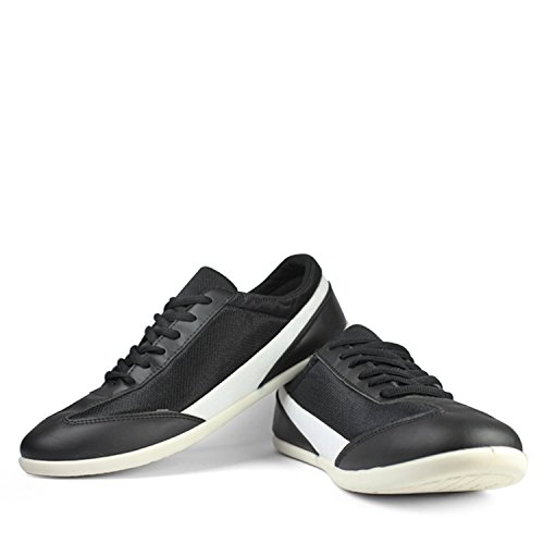 GlobaLite Men's Casual Shoes Rage Black White GSC0411 UK/IN-7