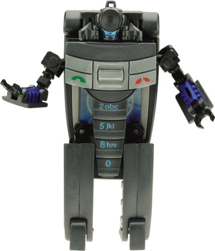 Transformers Real Gear Robots Pre-Painted Figure: Speed Dial 800 by Takara Tomy (Transformers Gears compare prices)