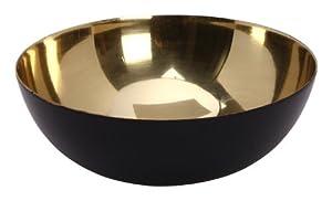 Design Ideas Mambrino Display Bowl, Small, Gold