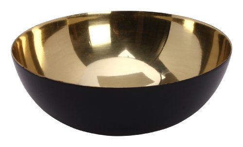 Design Ideas Mambrino Display Bowl, Small, Gold