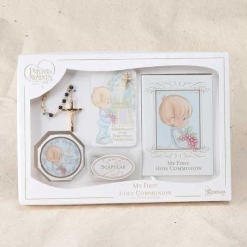Roman Inc. My First Communion Set - Boy Retired - Gift Set 62908