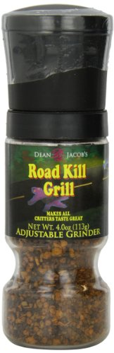 Dean Jacobs Gripper Grinder-Road Kill Grill, 4.0-Ounce (Pack of 3)