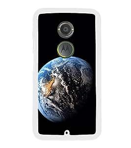 Earth 2D Hard Polycarbonate Designer Back Case Cover for Motorola Moto X2 :: Motorola Moto X (2nd Gen) :: Motorola Moto X 2014 :: Motorola Moto X+1