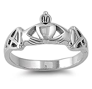 c0a4cbedb Friendship Rings: Friendship Rings Sterling Silver Size