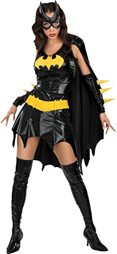 [Rubie's Women's Batgirl Costume Medium] (Homemade Superhero Costumes For Girls)